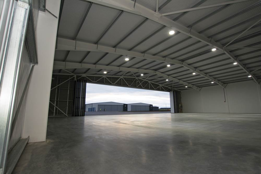 airfield hanger interior location photography lee on solent