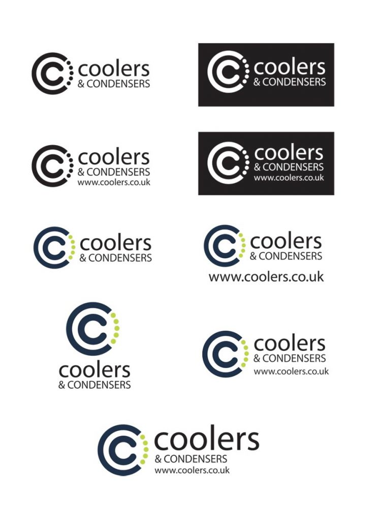 logo design and branding for coolers & condensers