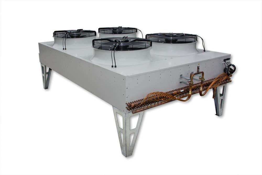 Cut out of heat exchange unit