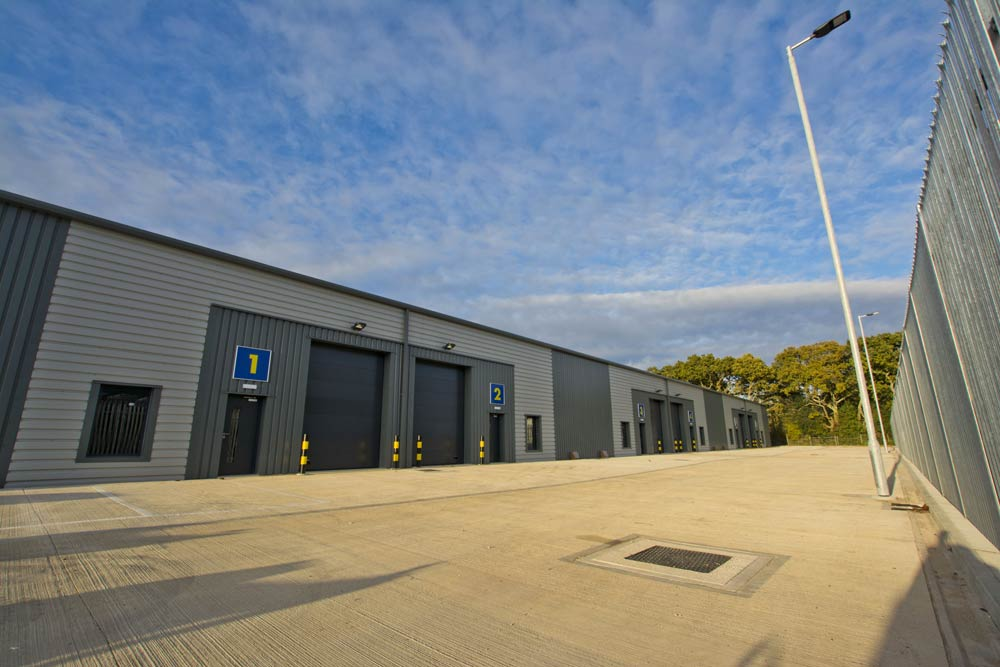 architectural industrial photograph in hampshire
