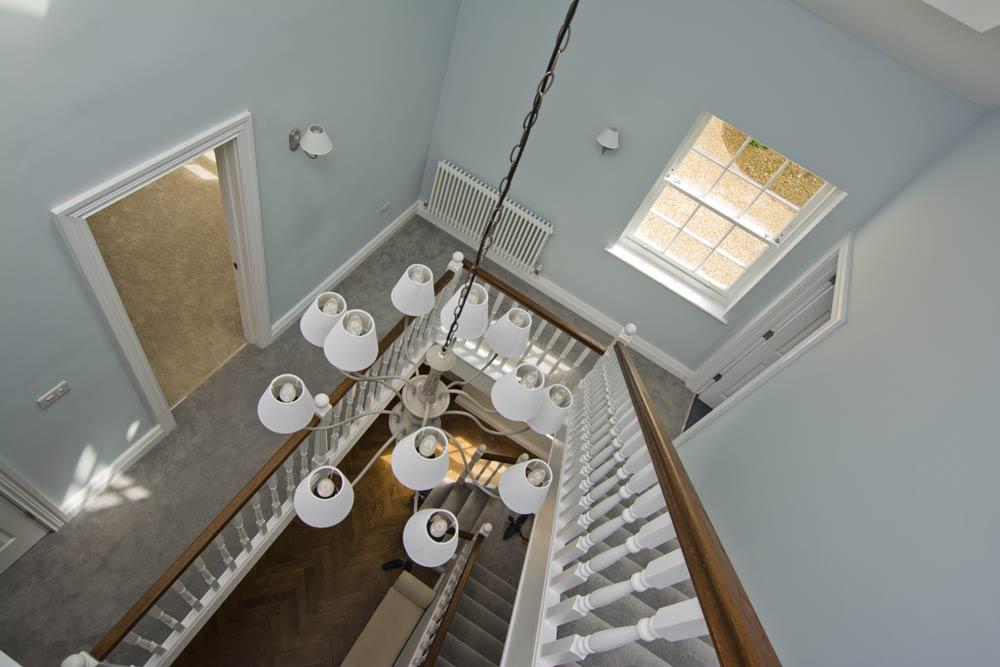 hallway chandelier location photography hampshire