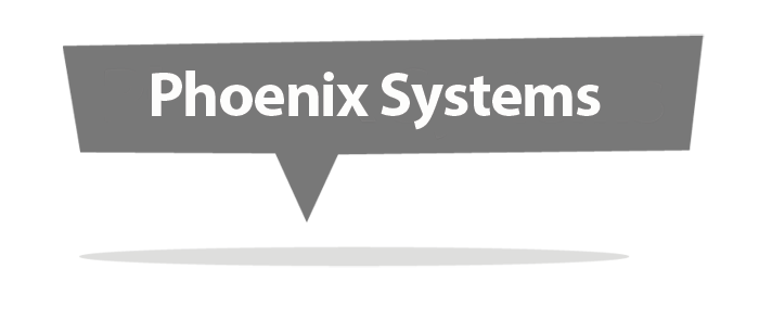 phoenix systems seo logo by mark eslick graphics