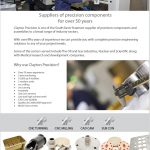 clayton precision A4 download brochure