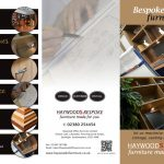haywoods bespoke furniture leaflet