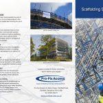 profix brochure cover design