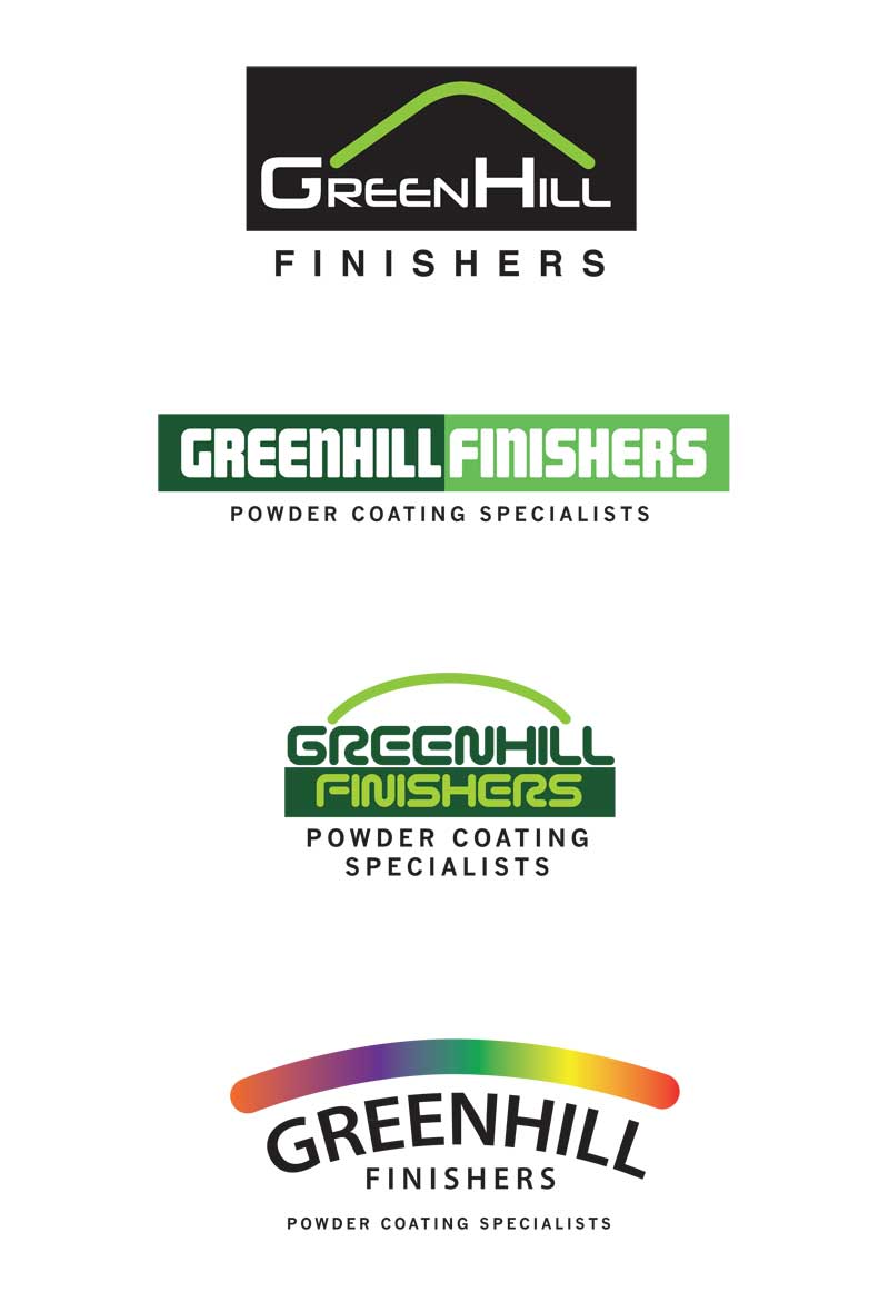 greenhill logo design by mark eslick graphics