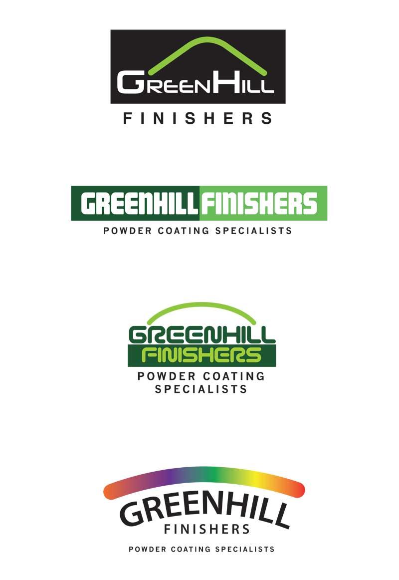 greenhill logo design by mark eslick graphics